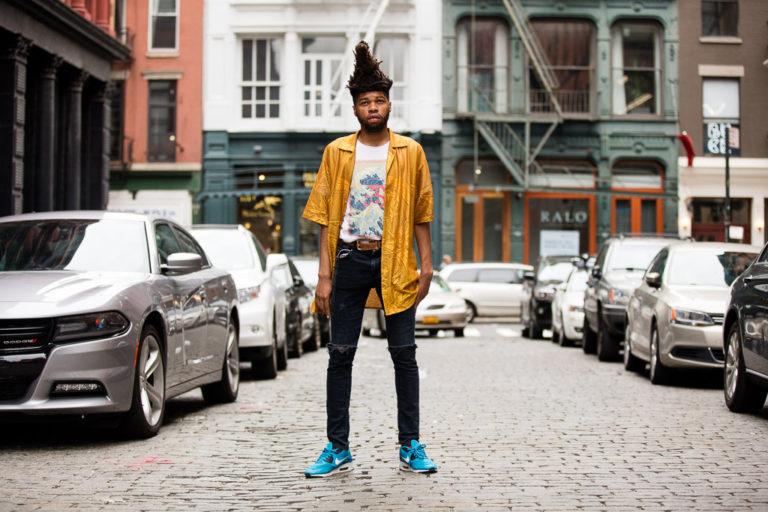 Street meets high fashion
