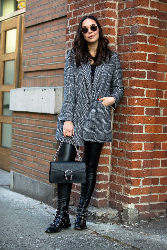 leather leggings, vancouver street style